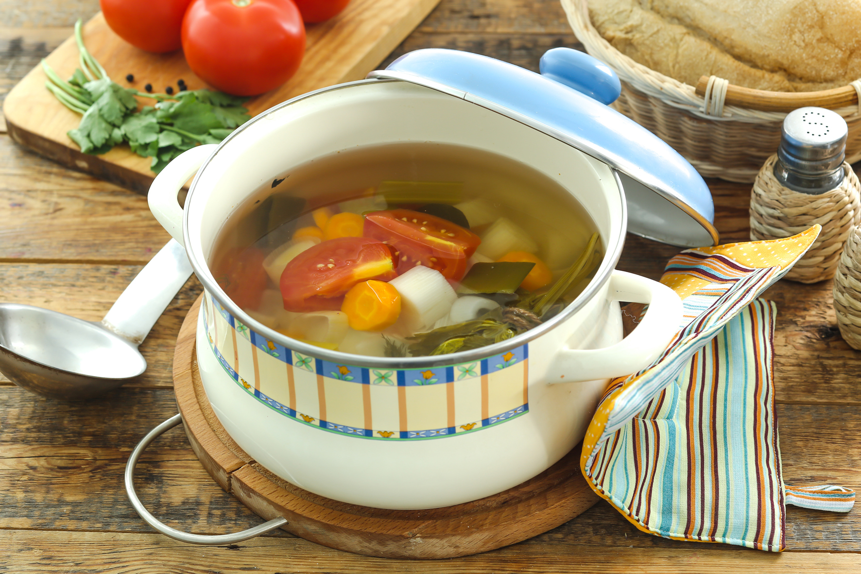 Какой суп можно варить на диете