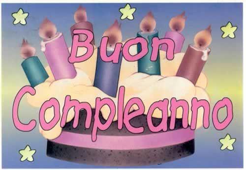 Прикольные, картинка поздравление с днем рождения на итальянском