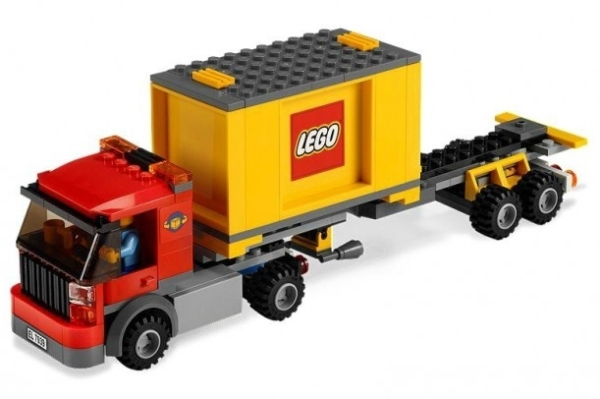 Лего Желтый Грузовик Инструкция