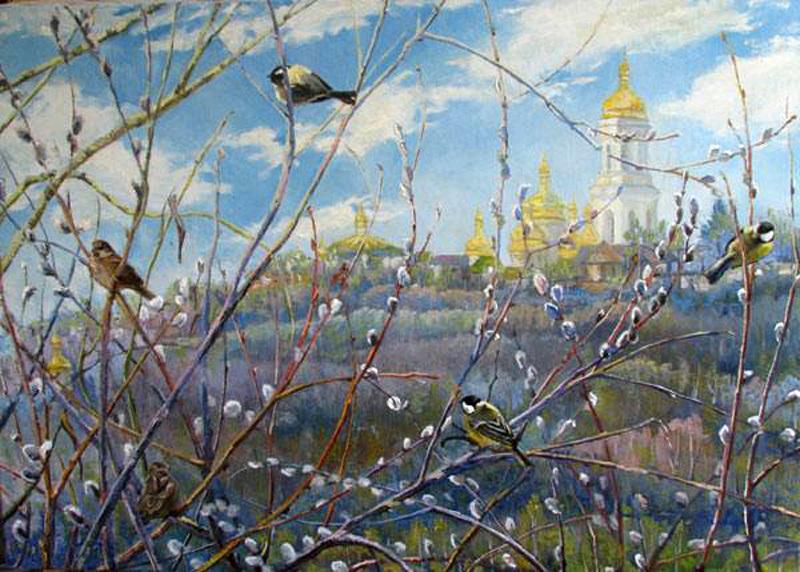 Варваров Анатолий Викторович. Весеннее солнце уже рядом. 2007