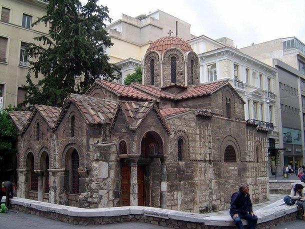 Церковь Введение во Храм Пресвятой Богородицы, Капникарея