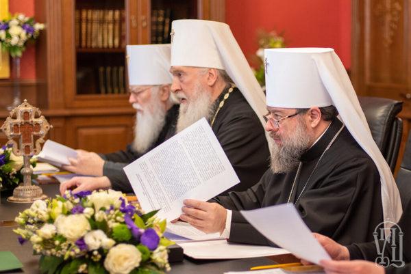 Состоялось первое в 2019 году заседание Священного Синода Украинской Православной Церкви