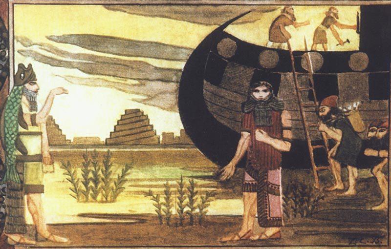 Шумерский вариант легенды о потопе