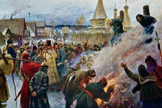 14.04.1682 (27.04) — Казнен протопоп Аввакум, крупнейший деятель раннего старообрядчества