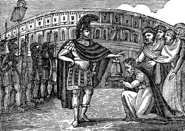 Велизарий (505-565), византийский полководец при Юстиниане I,
