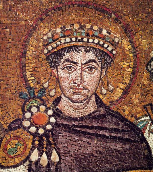 Византийский император Юстиниан I Великий