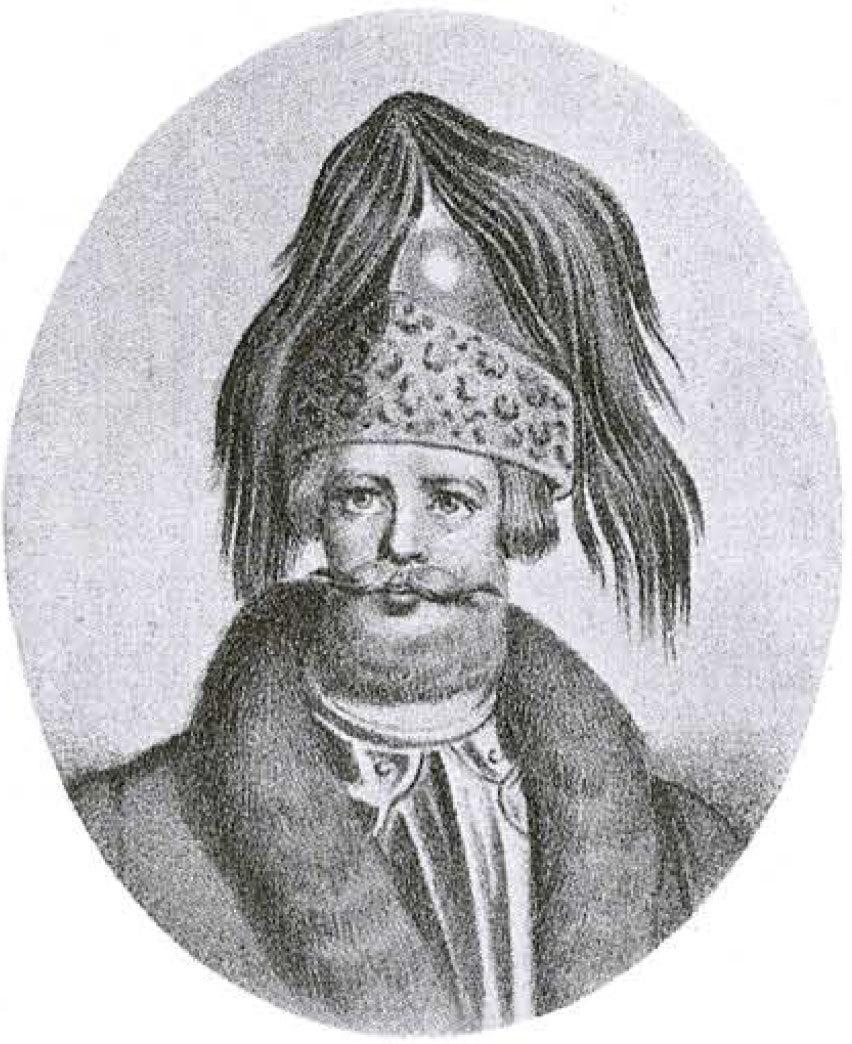 Мстислав Владимирович Великий. Рисунок XIX в