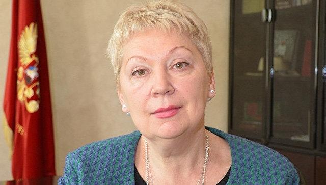 Министр образования и науки Российской Федерации Ольга Юрьевна Васильева