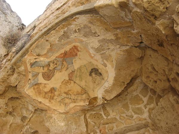 В банях сохранились фрески