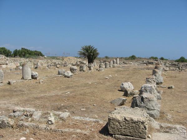 Остатки базилики Св. Епифании