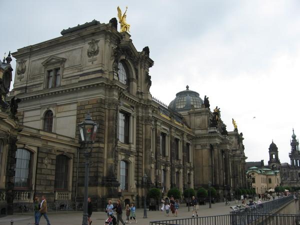 Здание Королевской саксонской академии искусств