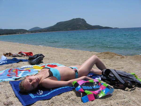 Пляж поселка Торони