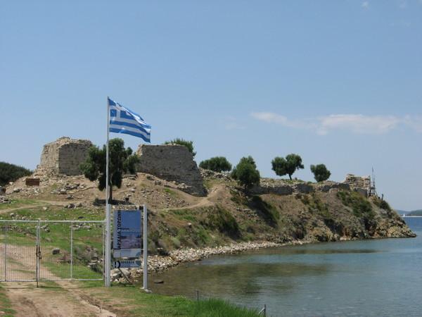 Торони. Развалины византийской крепости
