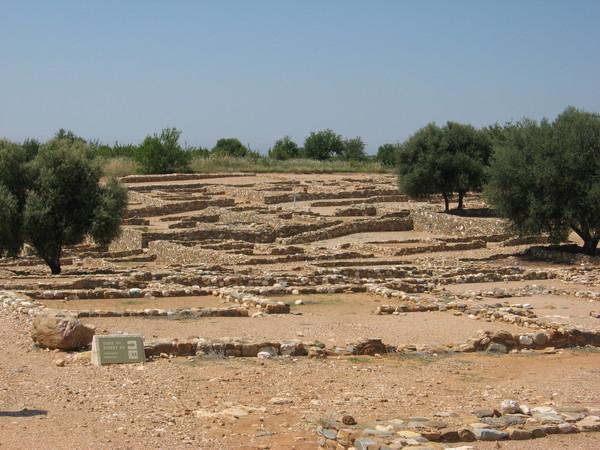 Стены домов Олинфа были преимущественно из глиняних кирпичей и соответственно не сохранились...