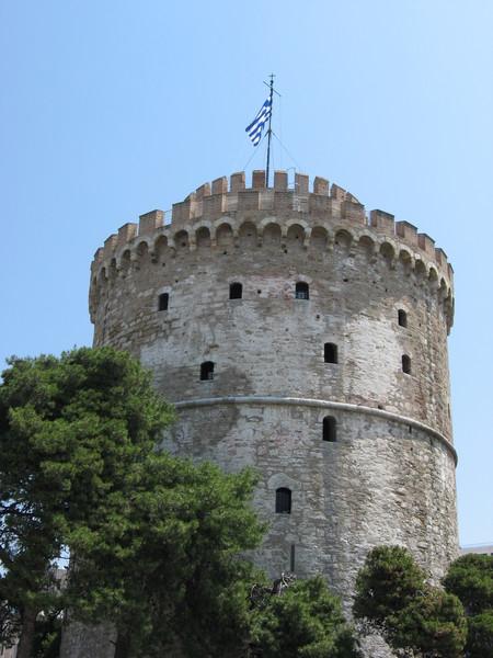 """""""Белая башня"""" стала символом города, несмотря на то, что была построена турками"""