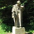 Памятник Томашу Масарику - президенту Чехословакии начала XX века