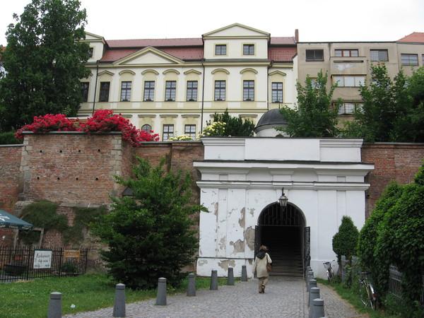 Сад епископской резиденции