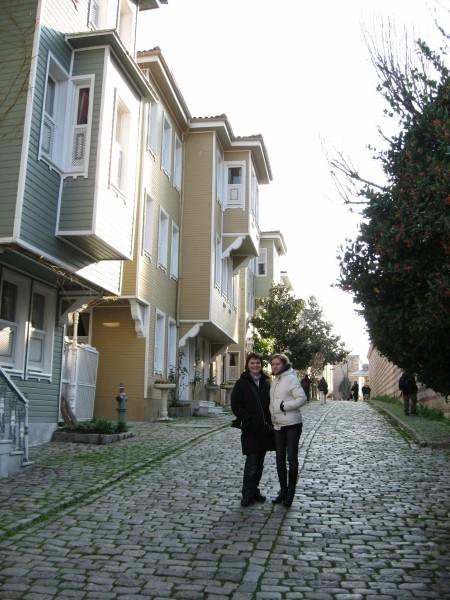 Улица Соукчешме между дворцом Топкапы и Святой Софией