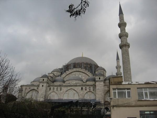 Мечеть Сулеймание, считающаяся самой красивой мечетью Стамбула