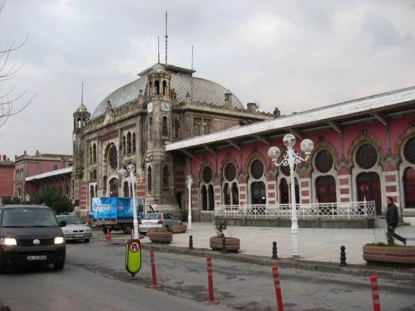 Вокзал Сиркеджи, на который приходил знаменитый Восточный экспресс из Парижа