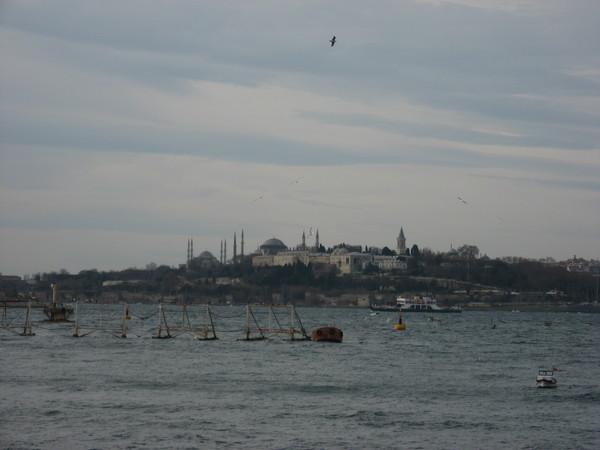 Голубая мечеть, Святая София и дворец Топкапы