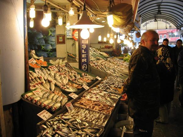 Рыбный рынок в Юскюдаре