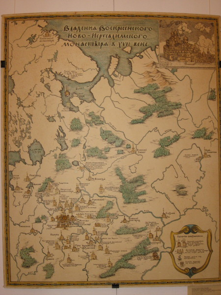При Никоне монастырь стал крупным землевладельцем