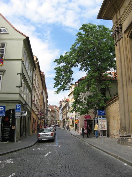 Нерудова улица названа в честь писателя и поэта Яна Неруды
