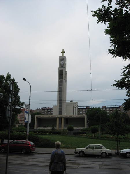 Церковь Св. Вацлава в стиле модерн