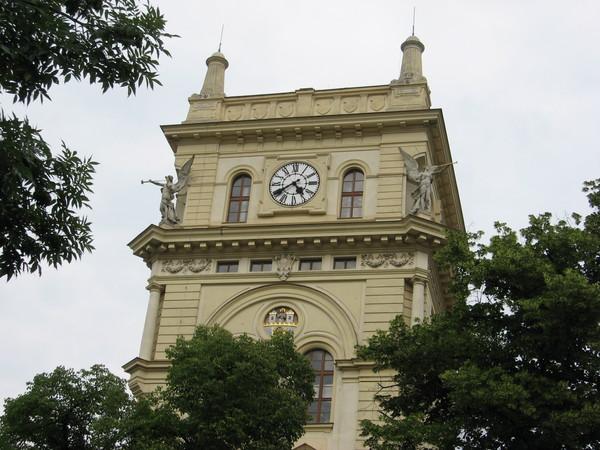 Чехословатская гуситская церковь в Виноградах