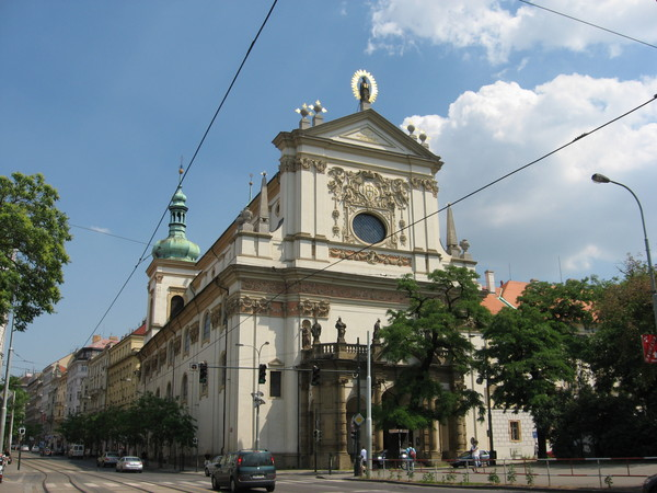 Карлова площадь. Церковь Св. Игнаса