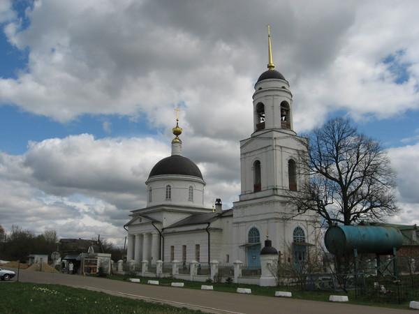 Радонеж - родина преподобного Сергия. Преображенская церковь