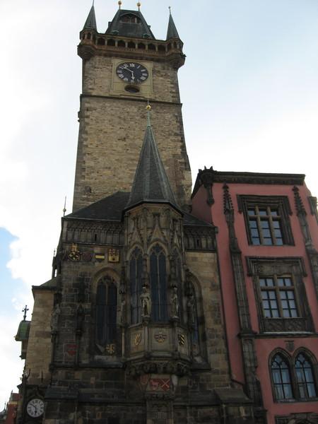 Эркер и часовая башня Ратуши