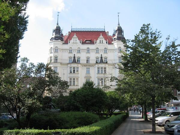 Сейчас Йозефов - один из самых элегантных районов Праги