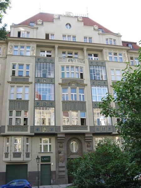 Йозефов - это бывшие еврейские кварталы