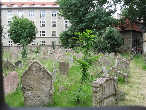 На протяжении нескольких веков еврейской общине было запрещено хоронить умерших за пределами Йозефова...