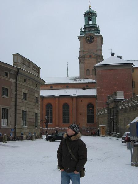 Башня Стурчюркан - кафедрального собора Швеции