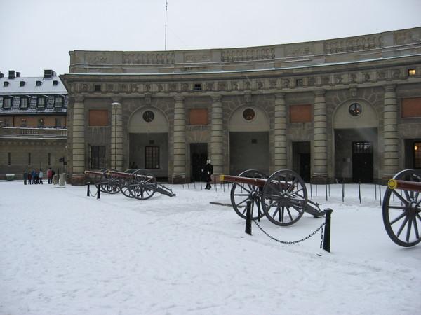 Внутренний двор Королевского дворца