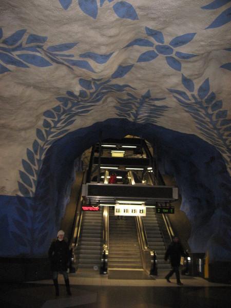"Стокгольмское метро. Станция ""Т-Централен"""