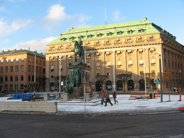 Памятник королю Густаву II Адольфу