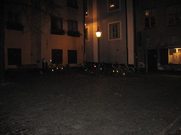 Густорьет - самая маленькая площадь Старого города