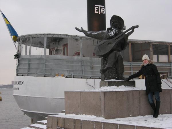 Опять памятник Эверту Тобу