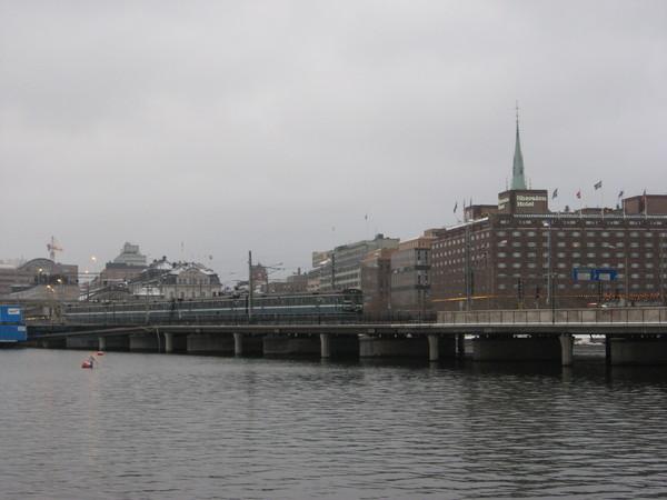 Вид на Норрмальм - стокгольмский Сити