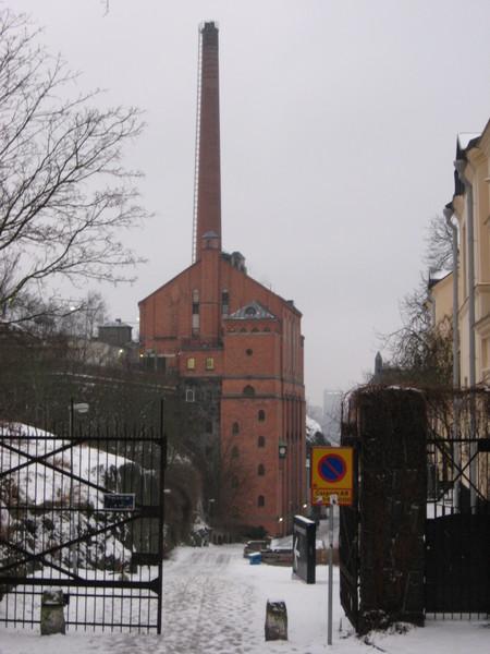 Сказочная фабрика оказывается бывшей пивоварней Мюнхенбрюггериет
