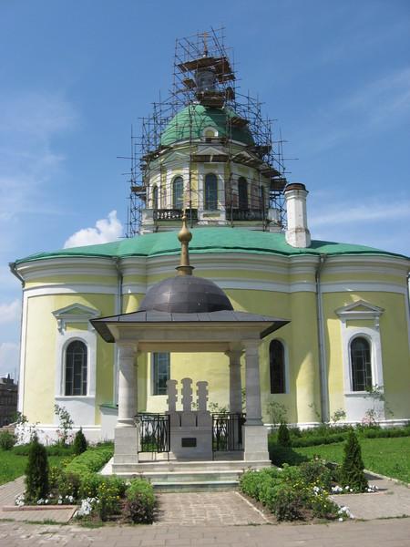 Надгробные памятники князя Федора, княгини Евпраксии и их сына Ивана