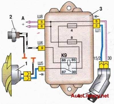 Как сменить генератор Г-222 на