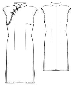 в галереях: пошив юбки выкройки и китайское платье ципао выкройка.