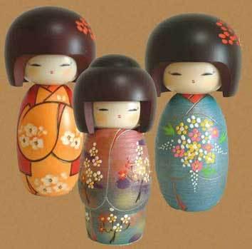Японские традиционные игрушки