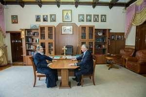 Епископ Маркелл провел встречу с президентом страны И. Н. Додон