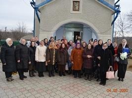 Liturghie omagială în Obreja Veche